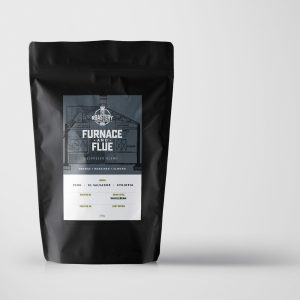 Furnace and Flue. Fresh Roast Coffee Blend from The Roastery, Wellingborough Northamptonshire.
