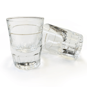 1oz Shot Glass. For Espresso Extraction.