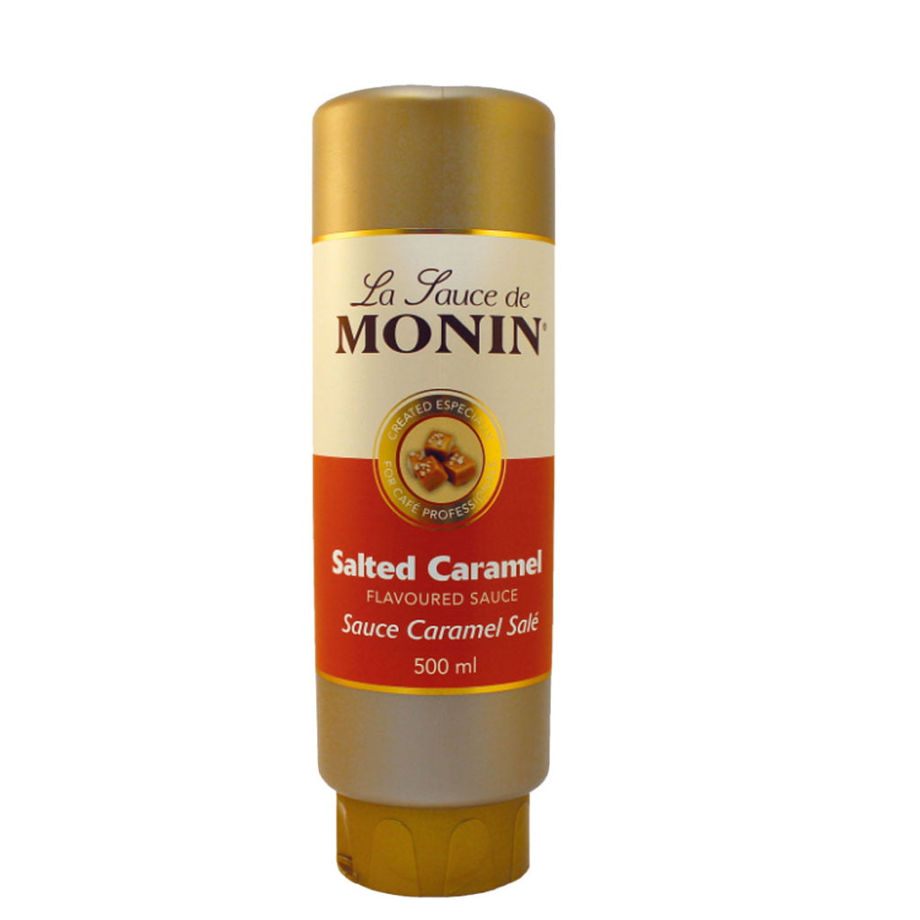 Monin Salted Caramel Sauce 500ml The Roastery