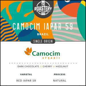 Brazil Camocim Iapar 59 Organic Single Origin Arabica Roast Coffee