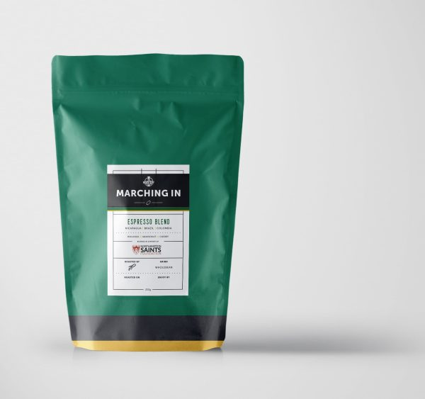 Marching In Saints Espresso Blend Coffee